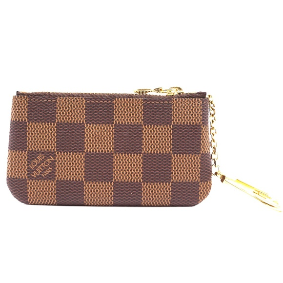 Louis Vuitton Handbags - Damier Ebene Zippy Key  Coin Purse Wallet
